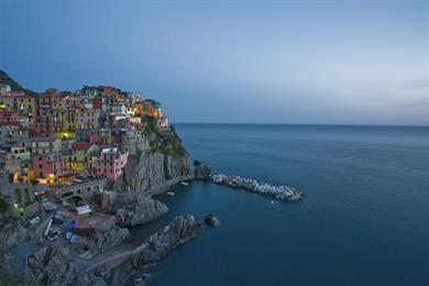 sea of the Cinque Terre