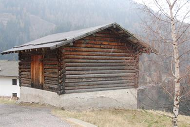 Casetta di legno a Palu del Fersina
