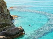 Tropea, wunderschönes Ort an der Mittelmeerküste - Tropea