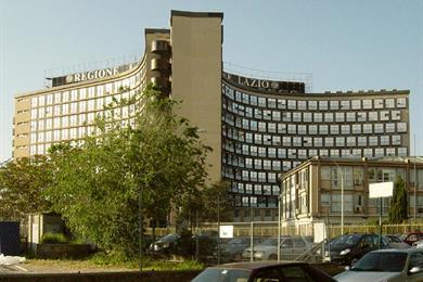 La sede della Giunta della Regione Lazio