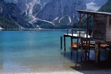 Panoramica del Lago di Braies