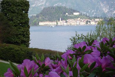 View of the lake como