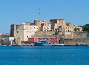 Il Castello Svevo e le testimonianze romane - Brindisi