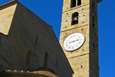 Campanile antico della basilica