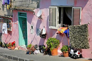 Tipiche case di Napoli (Procida)