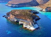 Lampedusa, île paradisiaque, frontière entre l'Afrique et l'Italie - Lampedusa