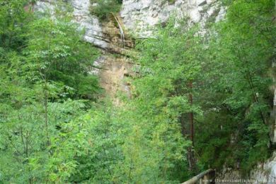 La Cascata dell'Hofentòl