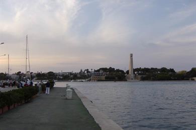 Lungomare al porto