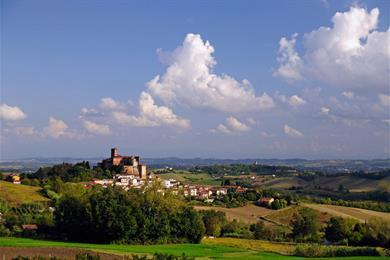 Veduta di San Giorgio Monferrato