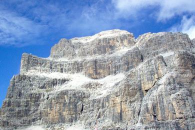 La cima piu alta delle Dolomiti di Brenta