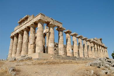 Tempio dorico greco di Era