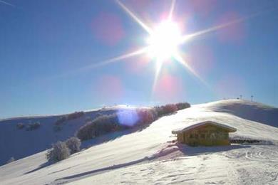 Una bellissima giornata di sole a Brentonico