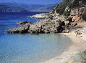 Malerisches Panorama auf Elba in Capoliveri - Capoliveri