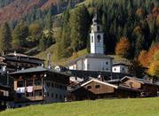 Sauris, Borgo San Lorenzo nella Val Lumiei - Sauris