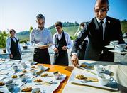 Ottima cucina e camere alla Trattoria del Bivio - Cerretto Langhe