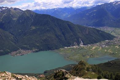 Lago die Mezzola - Pian di Spagna - Valtellina