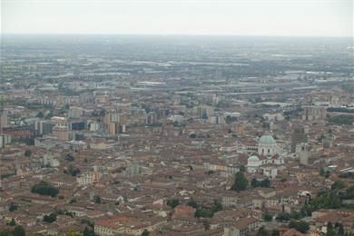 Veduta del centro città