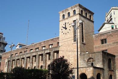 Il Palazzo delle Poste e Telecomunicazioni