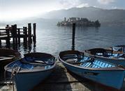Orta, cittadina e lago del nord Italia - Lago d'Orta