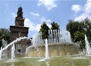 Das Castello Sforzesco - Milano