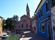 Burano una piccola città con case colorate - Burano