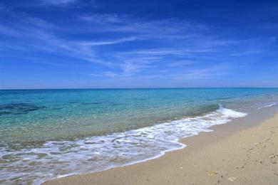 Spiaggia della costa Ionica