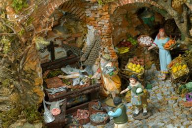 Neapolitan Christmas Crib