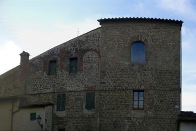 Panoramica sud torre vecchio castello