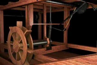 Leonardos Wassermühle
