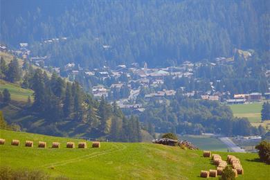 Paese visto dalla montagna