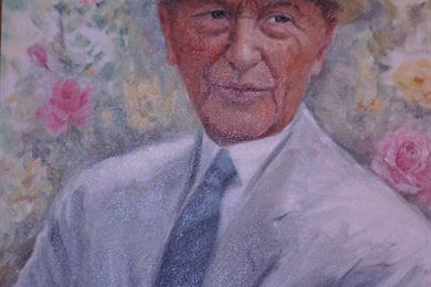 Portrait of Adenauer