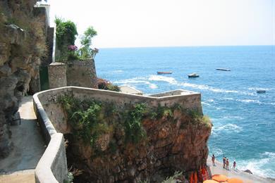 Panorama di Praiano