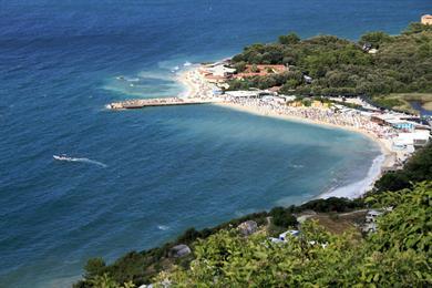 Spiaggie e mare nella Riviera del Conero