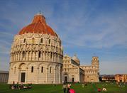 El monumental Baptisterio - Pisa
