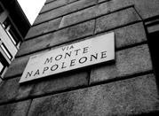 Milao: rua Montenapoleone - Milano