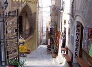 Castelsardo con vista su Corsica  - Castelsardo