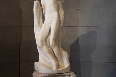 Pietá Rondanini, das letzte, unvollendete Werk von Michelangelo