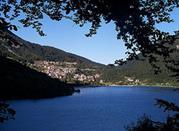 Molveno, das Ferienzentrum auf der Paganella -