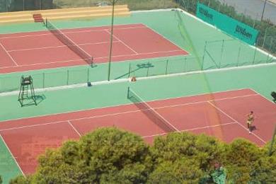 Hotel Santa Caterina Village - Tennis Courts