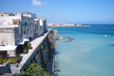 Otranto visto dal bastione dei Pelasgi