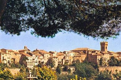 Panorama von Recanati