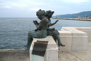 Monumento dedicato ai Bersaglieri
