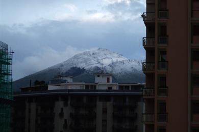 Monte Cuccio innevato
