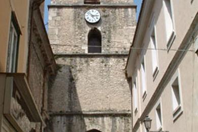 Veduta dell'Arco di San Pietro