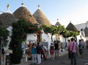 """Alberobello – """"smerfowe"""" domy - Alberobello"""