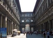 La galleria degli uffizi a Firenze - Firenze