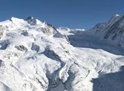 In Monterosa Ski gibt es zahlreiche Abfahrtspisten - Monterosa Ski