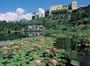 Meran – die Gärten von dem Schloss Trauttmansdorf - Merano