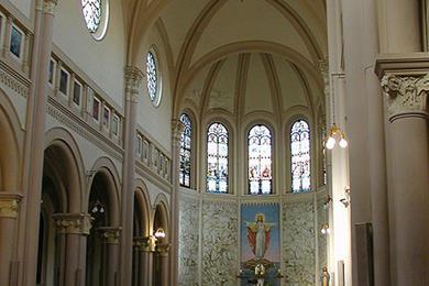 Interno Cortile del Santuario