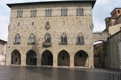 Facciata del Palazzo ducale